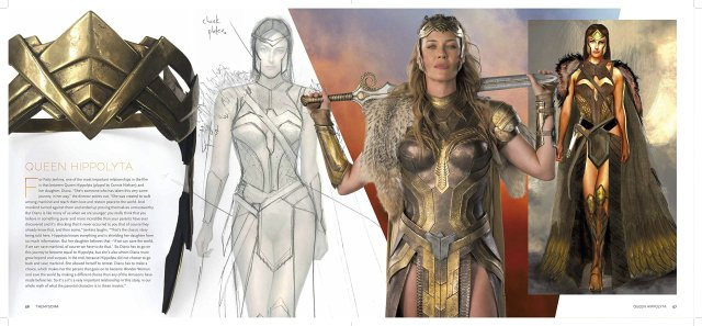 New Book Looks Behind The Scenes At The Art And Design Of The Wonder Woman Movie Borg