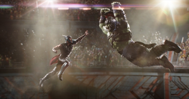 In theaters–Thor: Ragnarok makes Thor and Hulk cool again | borg