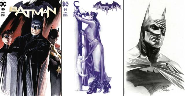 Alex Ross Batman 50