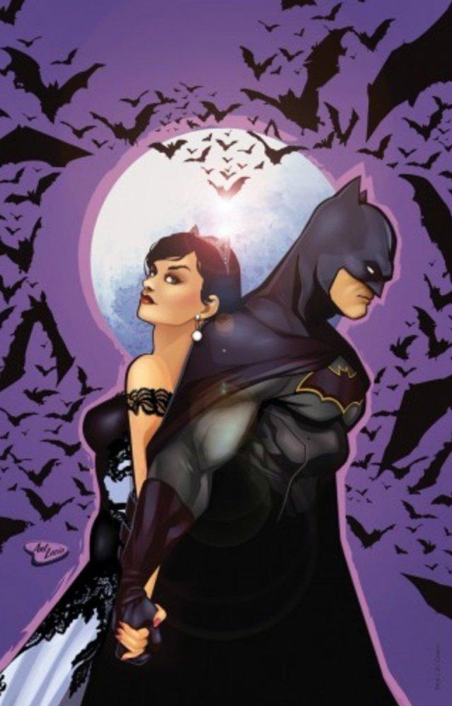 Ant Lucia Batman 50 variant art