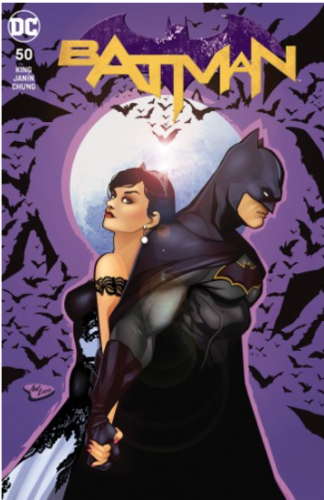 Lucia Batman 50 logo