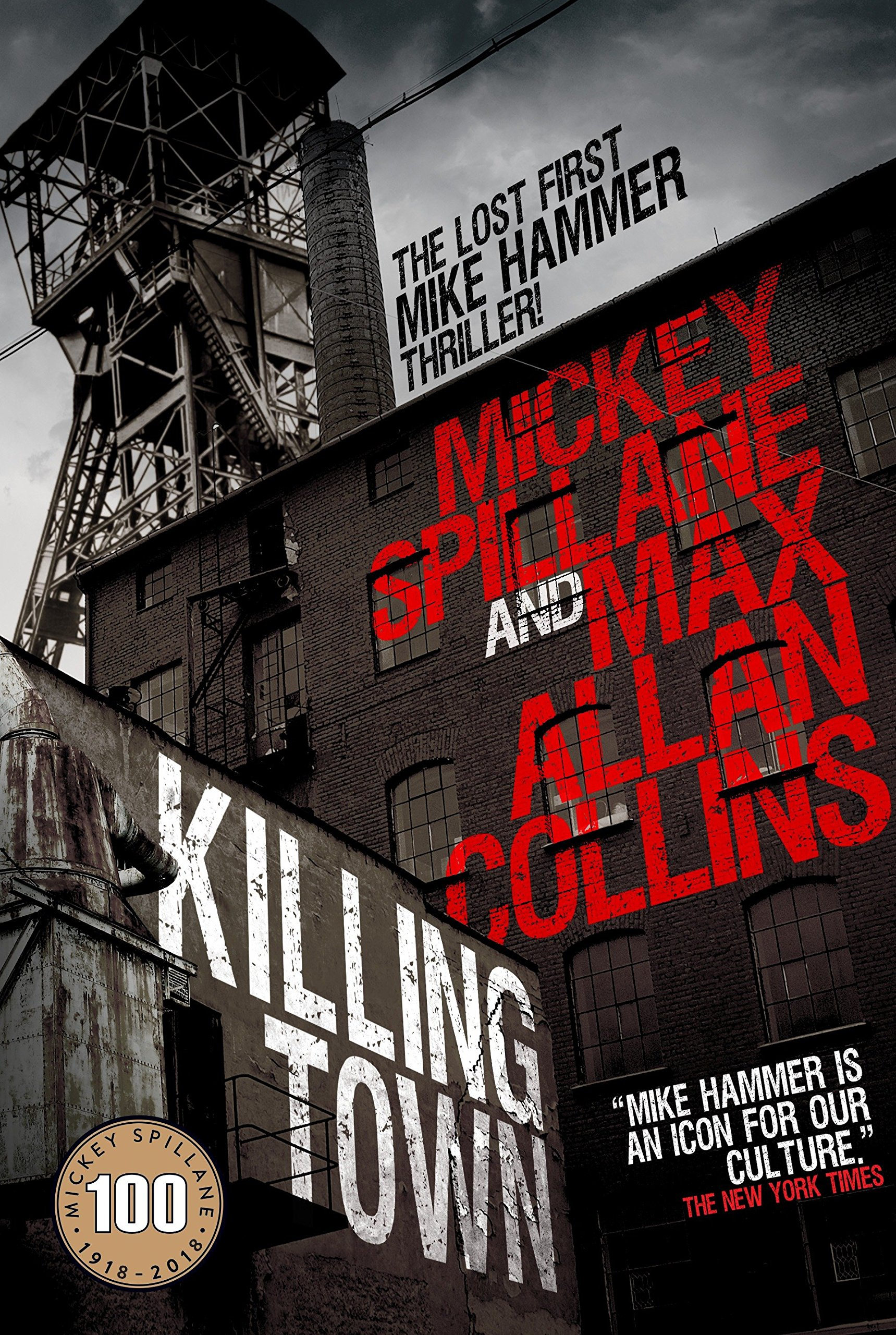 Mike Hammer Mickey Spillane Killing Town Max Allan Collins