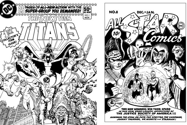 Dc Comics Coloring Book Borg