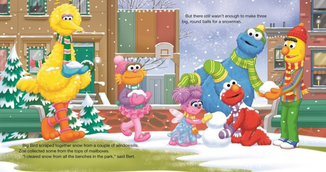 A Sesame Street Christmas Carol.Sesame Street Christmas Treasury Brings Back 29 Classic