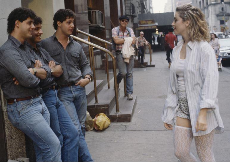 ผลการค้นหารูปภาพสำหรับ three identical strangers scenes madonna
