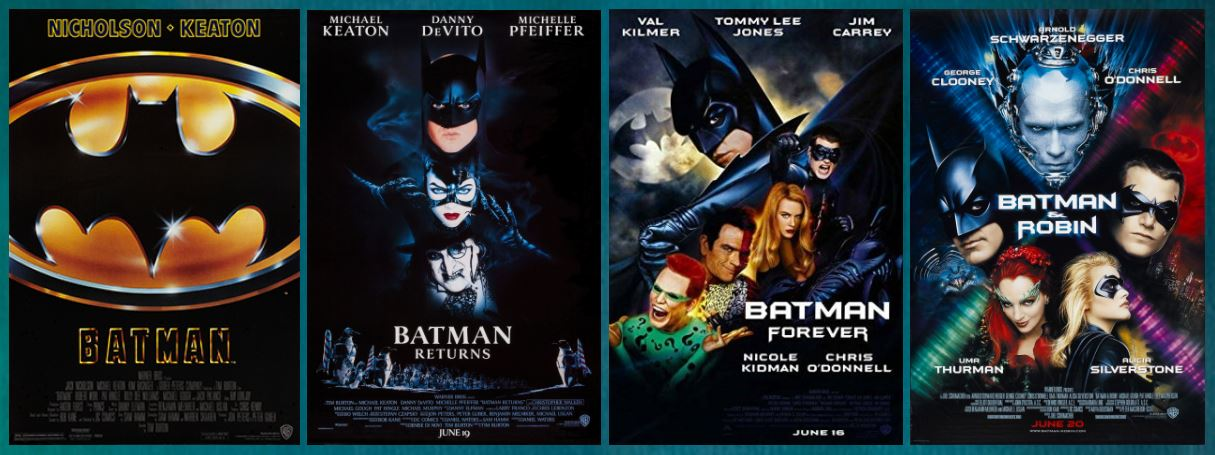 Batman Forever Classic Large Movie Poster Print