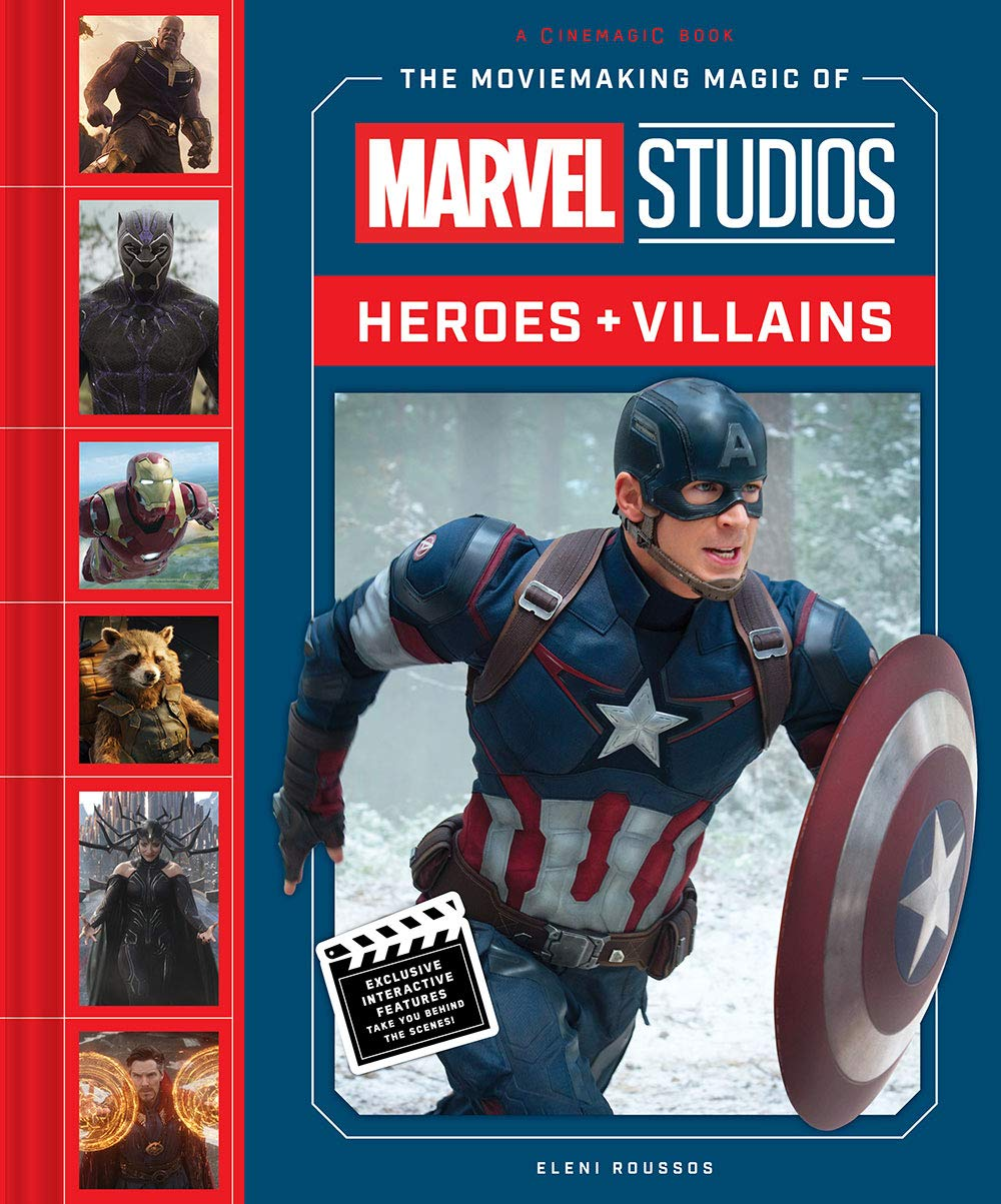 Marvel Heroes and Villains cover