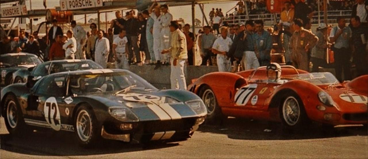 First look\u2013Ford v. Ferrari and Le Mans \u002766, a movie so big