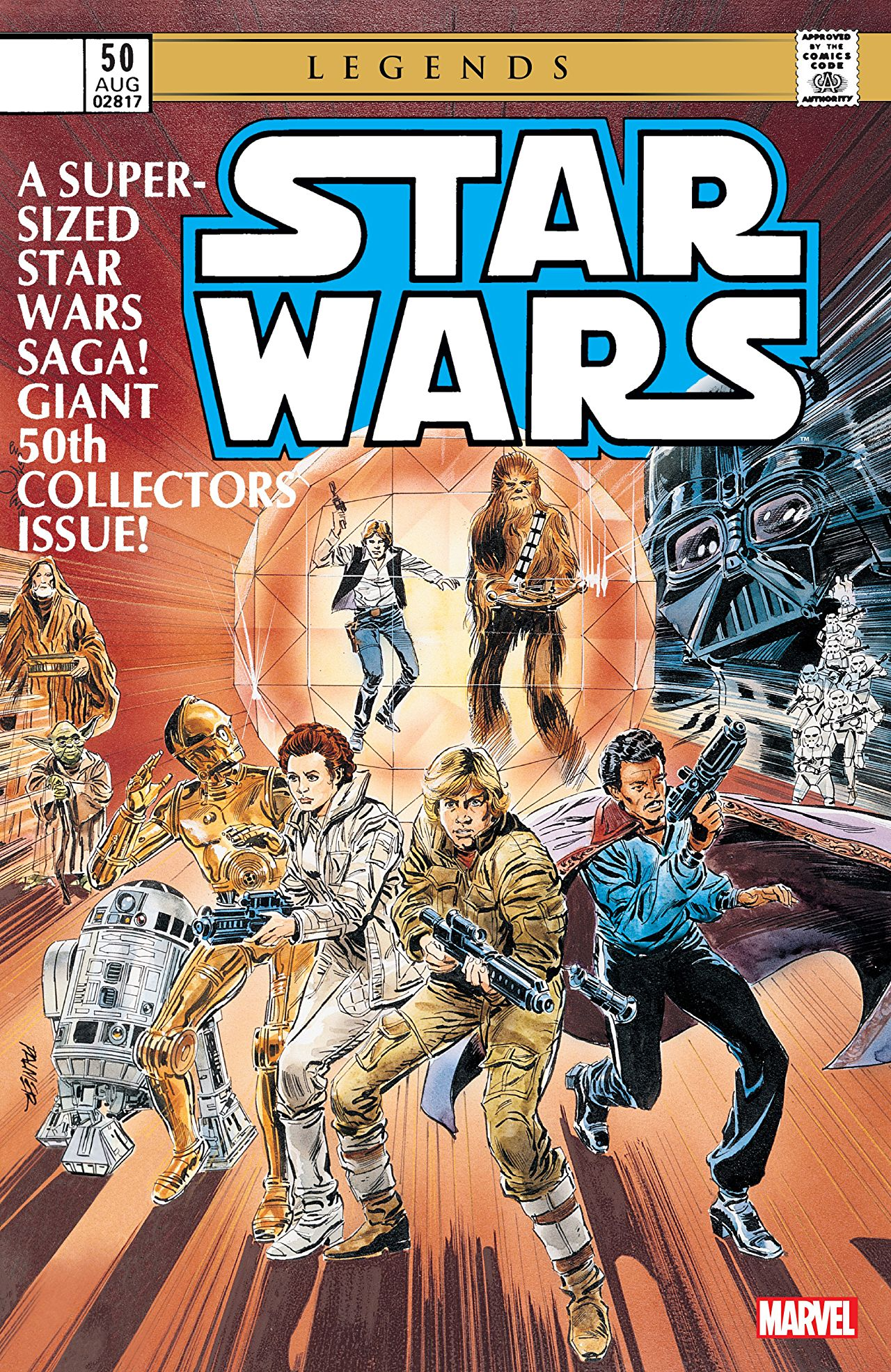STAR WARS ORIGINAL MARVEL YEARS #108 ACTION FIGURE VARIANT VALANCE COMIC BOOK