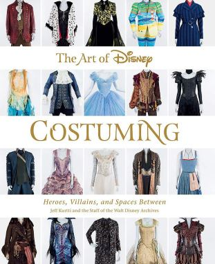 First look–New Disney costuming book previewed at D23