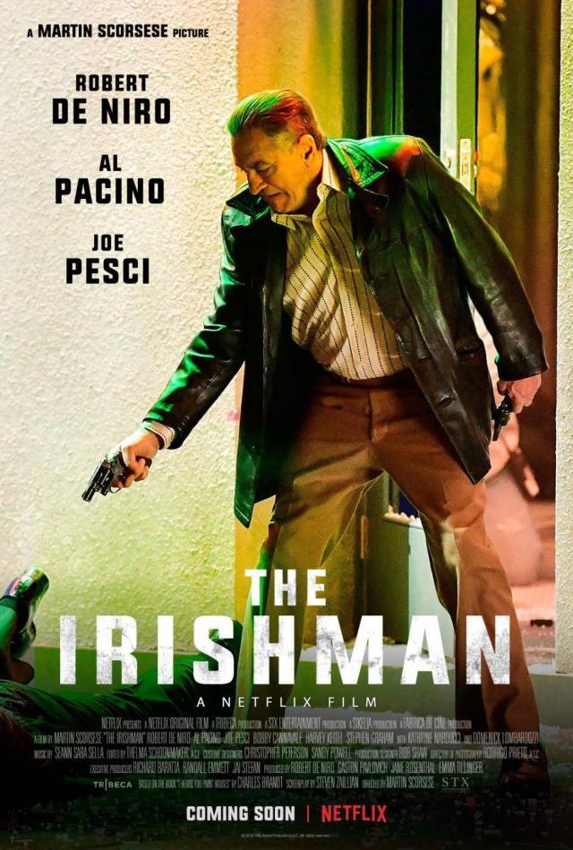 The Irishman poster #1