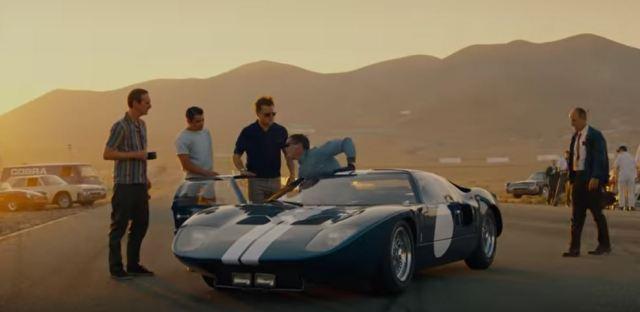 Ford V Ferrari Movie Trailer Borg