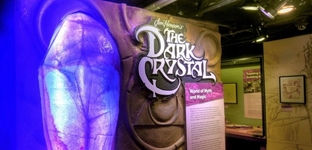 Dark crystal exhibit