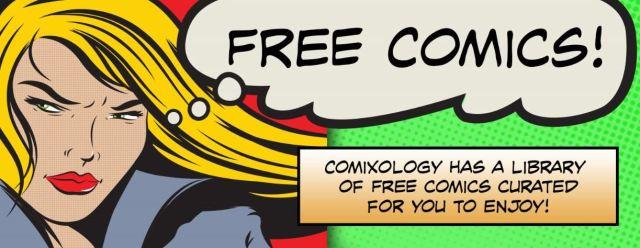 Free comics comixology