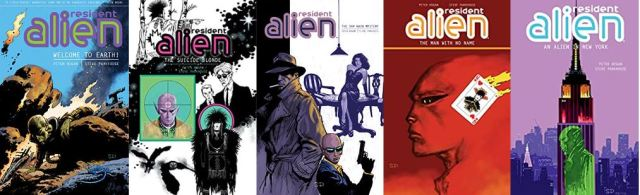 Resident alien books