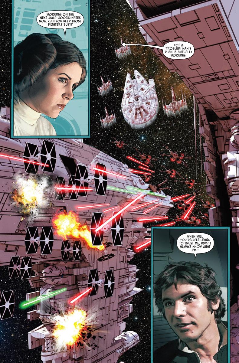mayhew Star wars crait story art