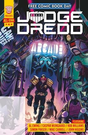 FCBD 2021 Judge Dredd