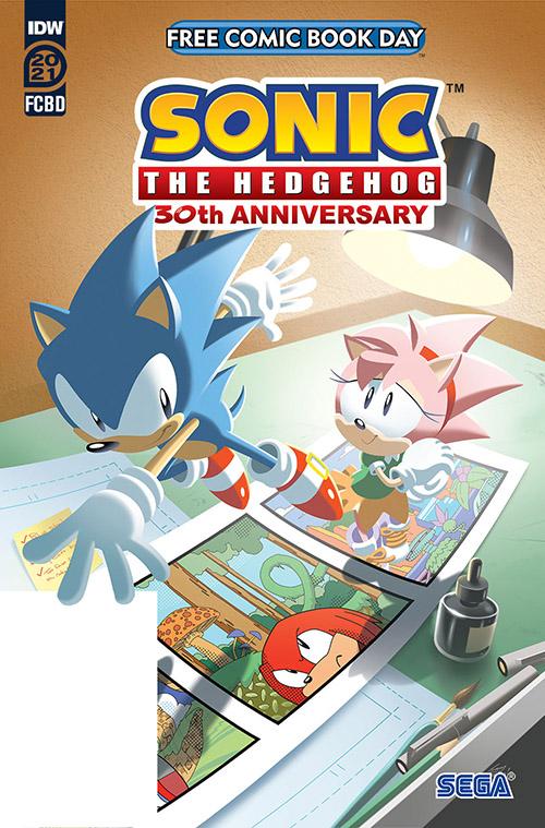 FCBD 2021 Sonic