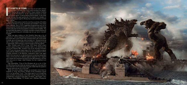 Godzilla v Kong b