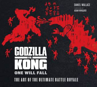 Godzilla v Kong cover