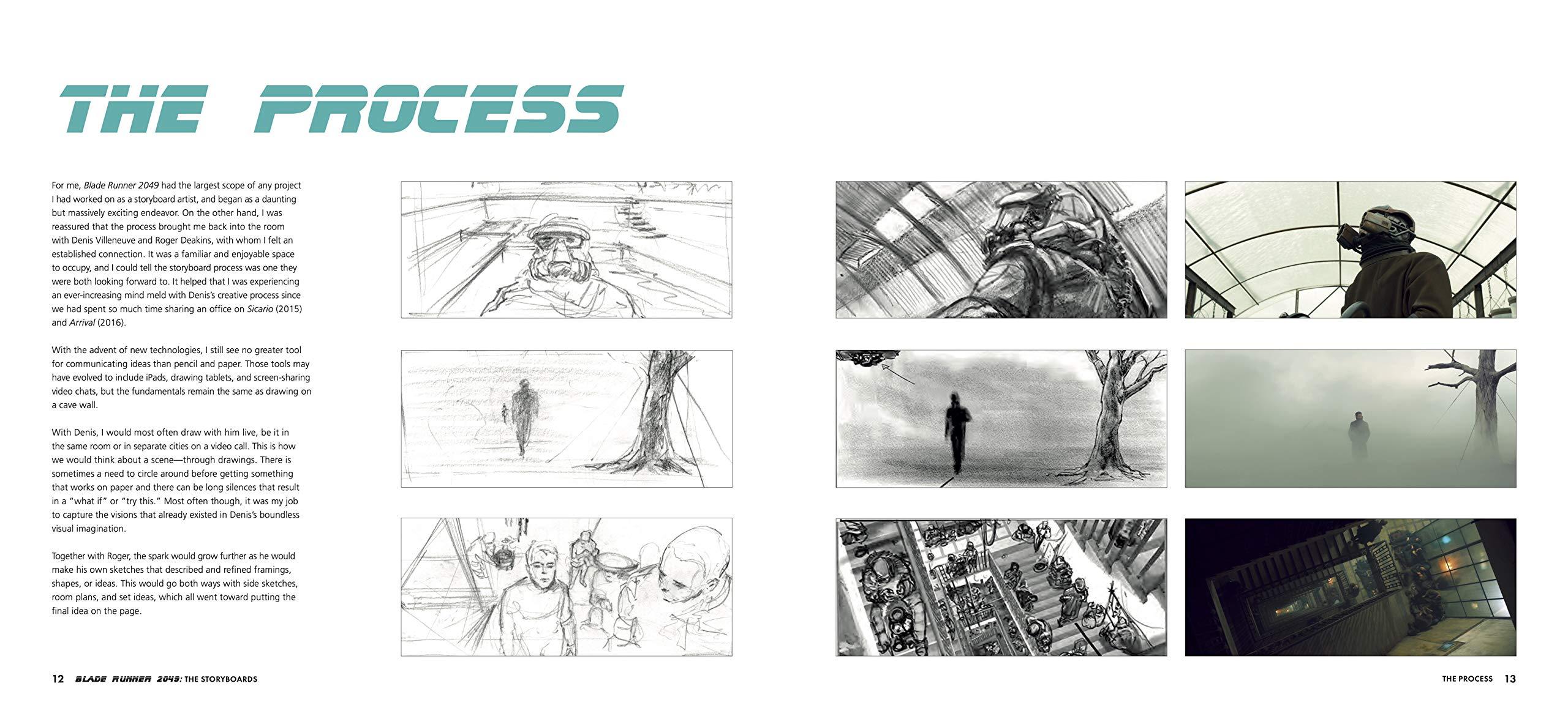 Blade Runner Storyboards a