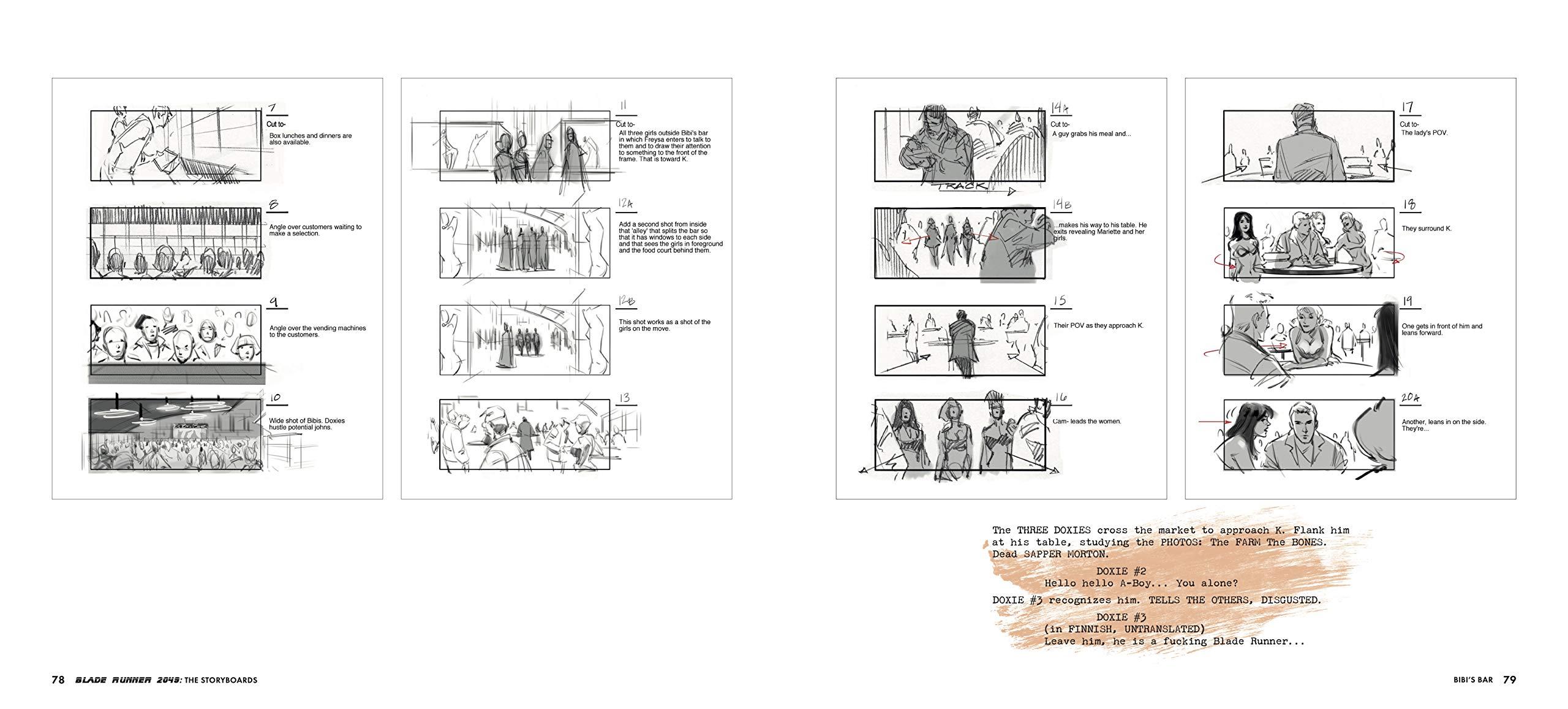 Blade Runner Storyboards d