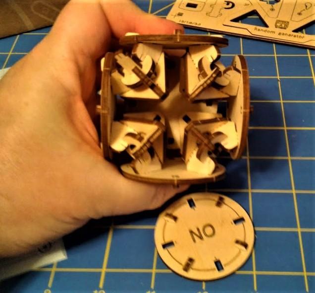 Cube build Step 2.