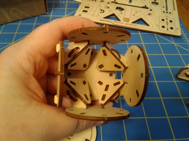 Cube build Step 1.