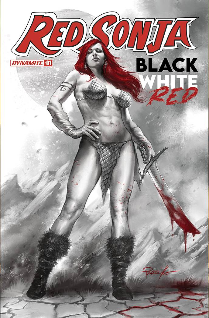 Red Sonja 1 BWR A Parrillo