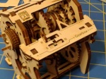 UGEARS Gearbox close-up