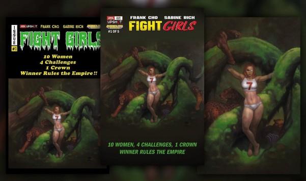 Fight Girls Frazetta x