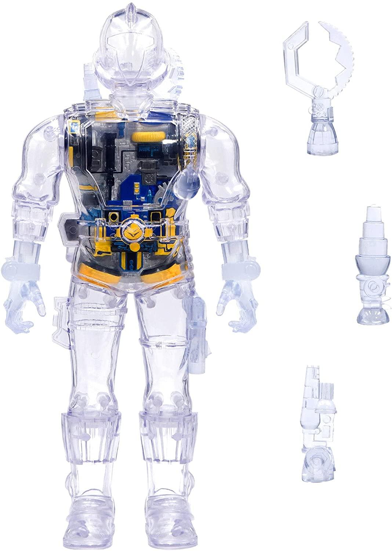 GI Joe super cyborg clear bat a