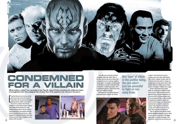Star Trek Villains Spread 1
