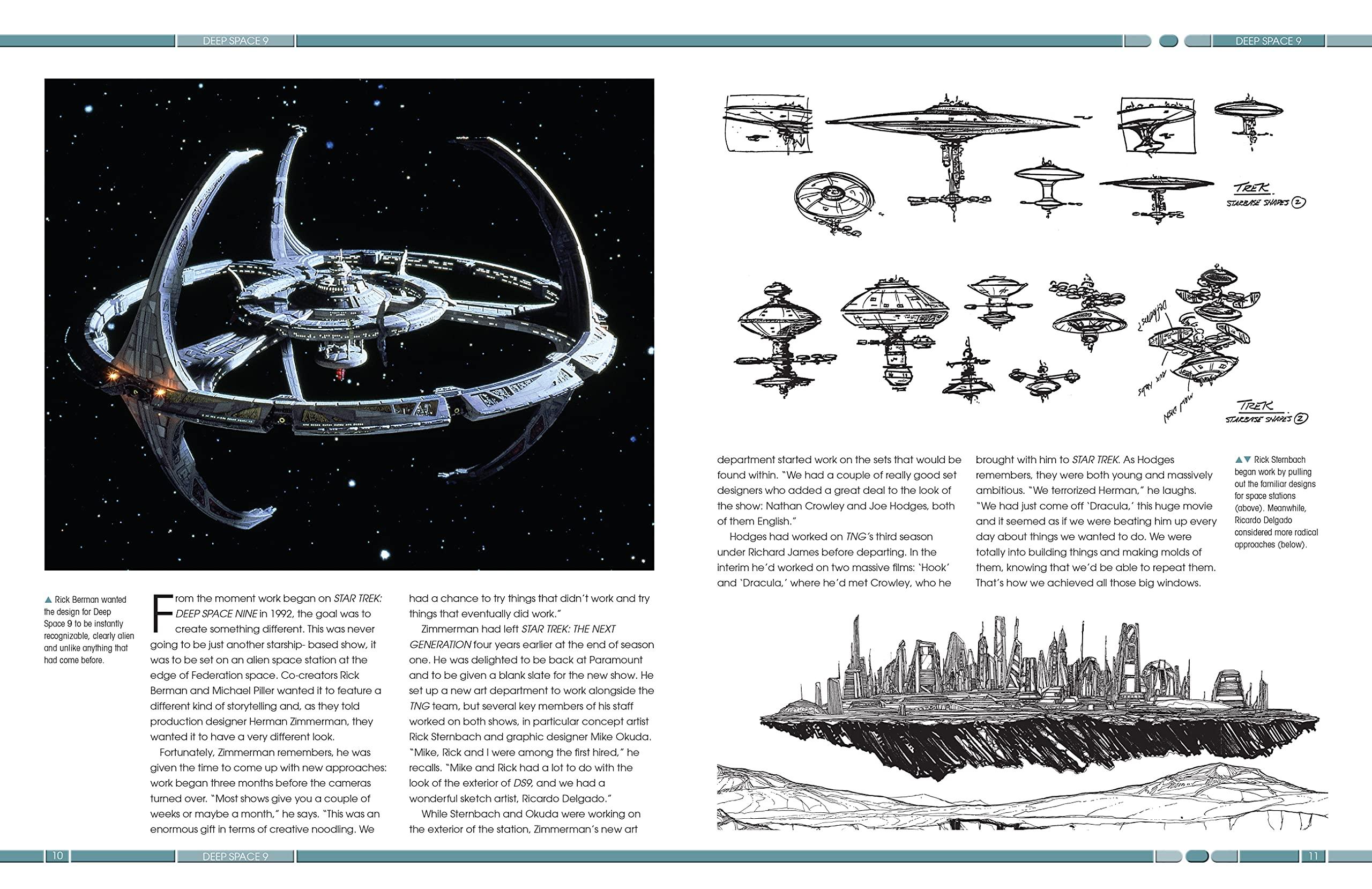 Designing Starships a