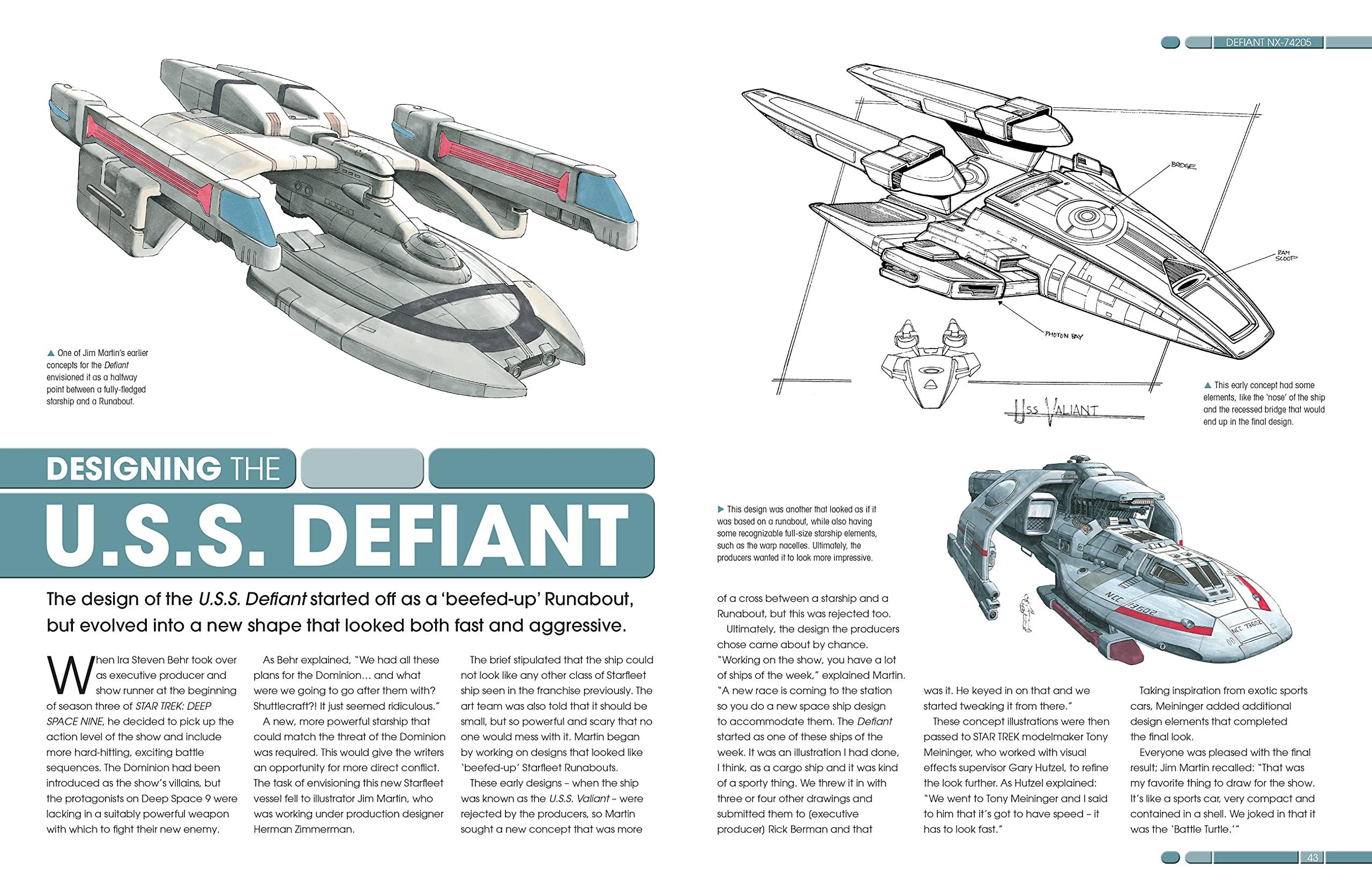 Designing Starships b