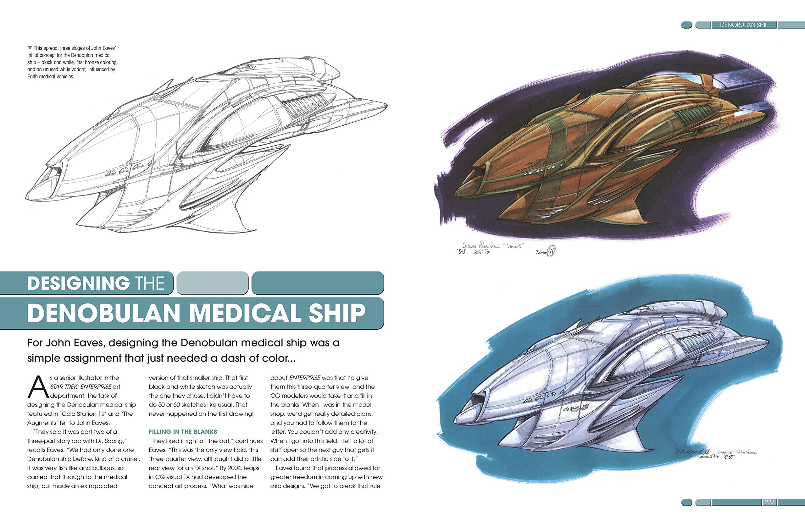 Designing Starships f