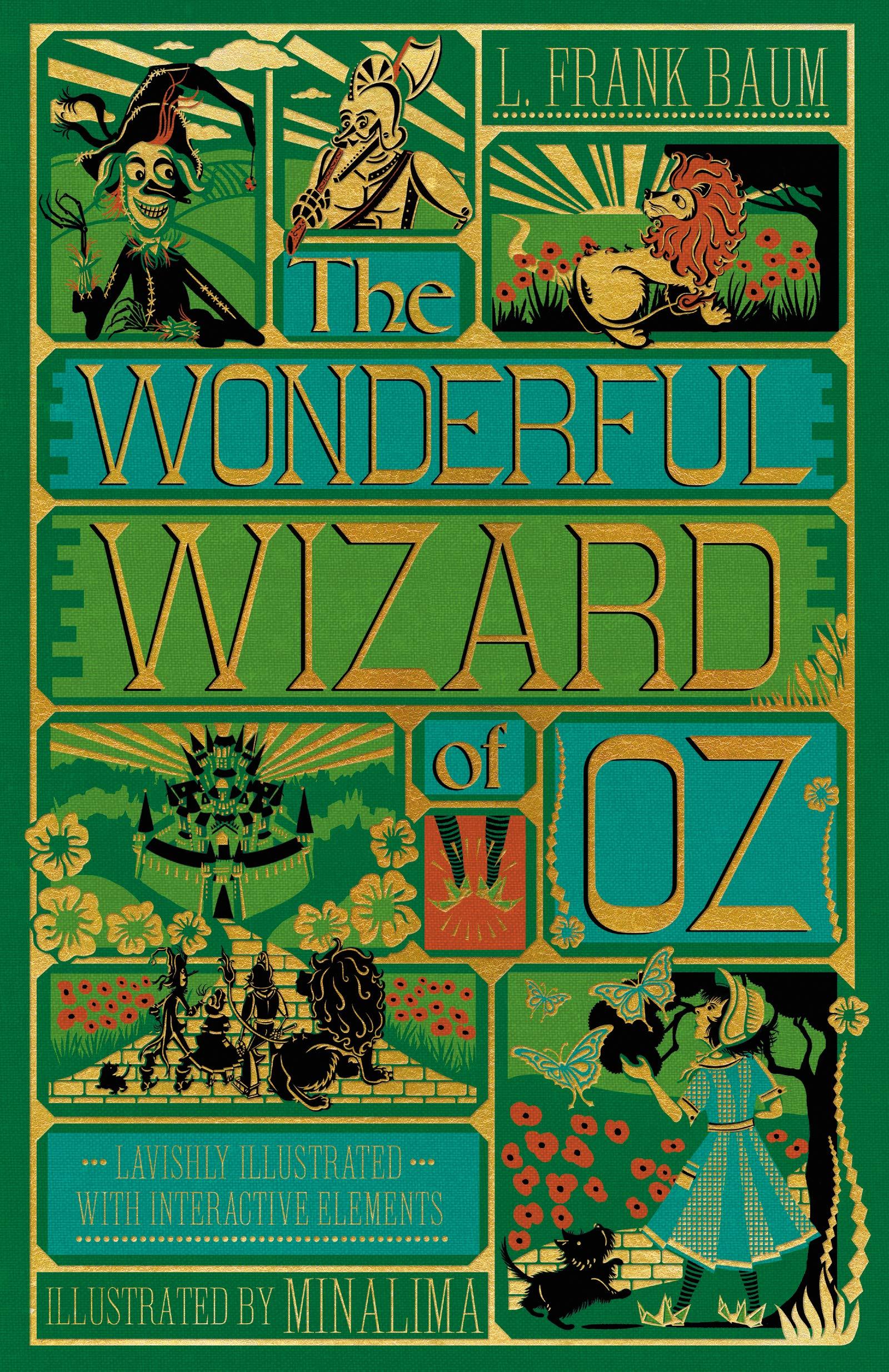 Wizard of Oz MinaLima cover